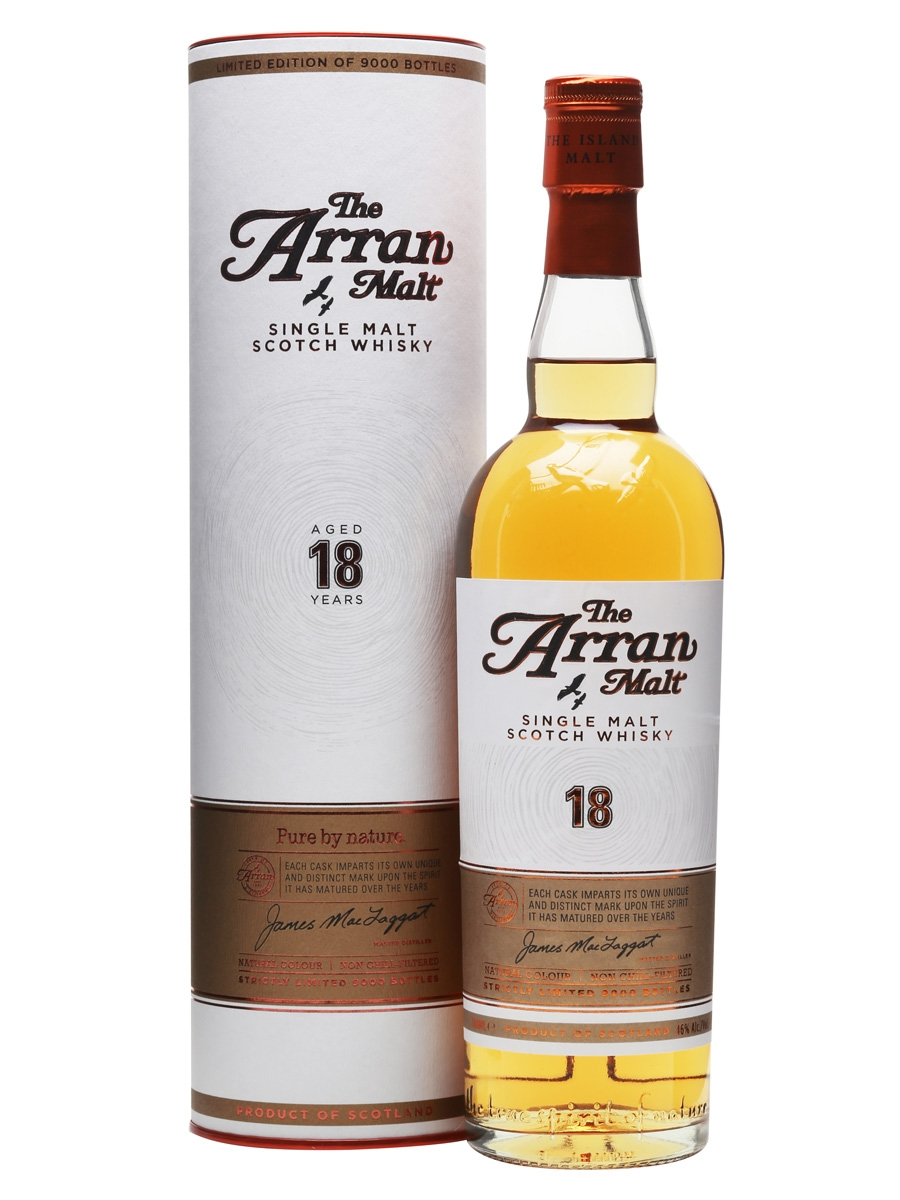 The Arran Malt 18 years.