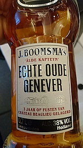 Boomsma echt oude genever 3 jaar ( Beaulieu vaten)