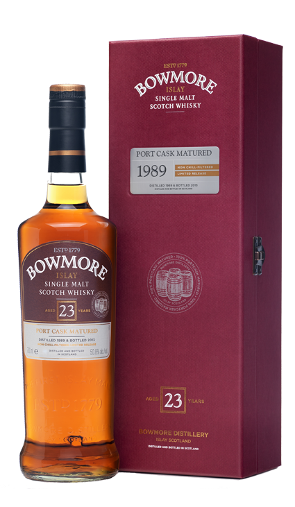 Bowmore 23 Years Port Cask Matured