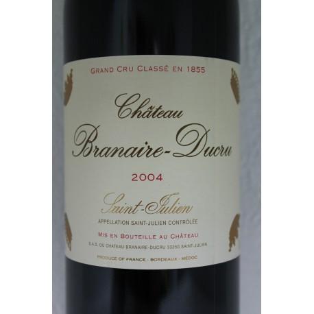 Chateau Branaire - Ducru 2004
