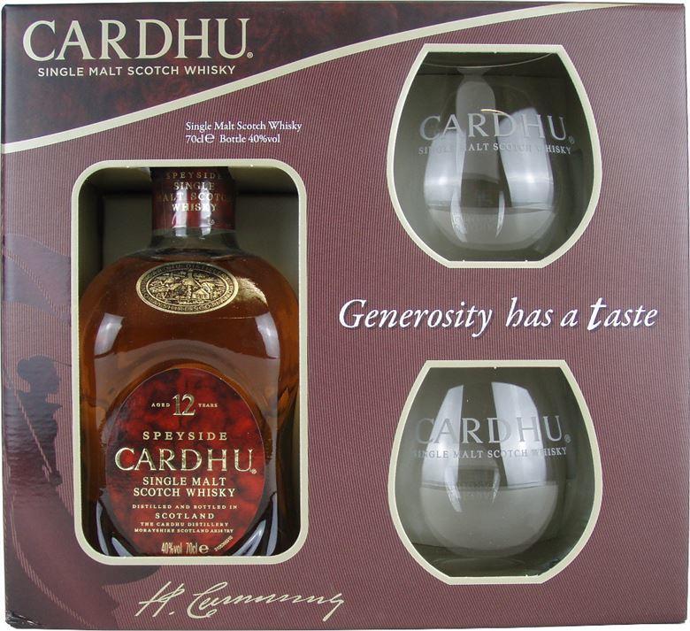 Cardhu 12 Years geschenkverpakking
