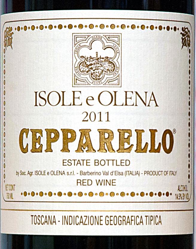 """Cepparello """"isole e Olena 2011"""