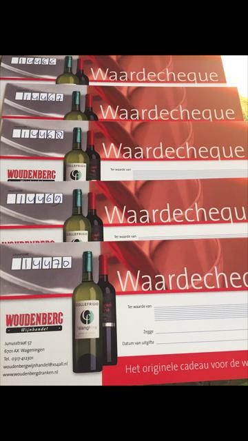 Waardebon € 30,00 Woudenberg