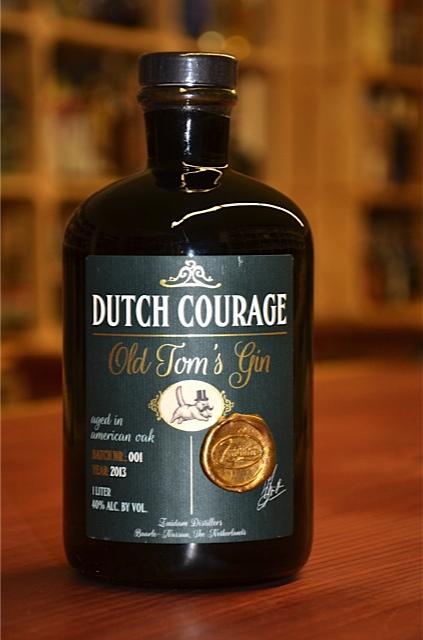 Dutch Courage zuidam old tom's gin