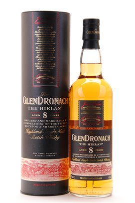 The Glendronach the hielan 8 years