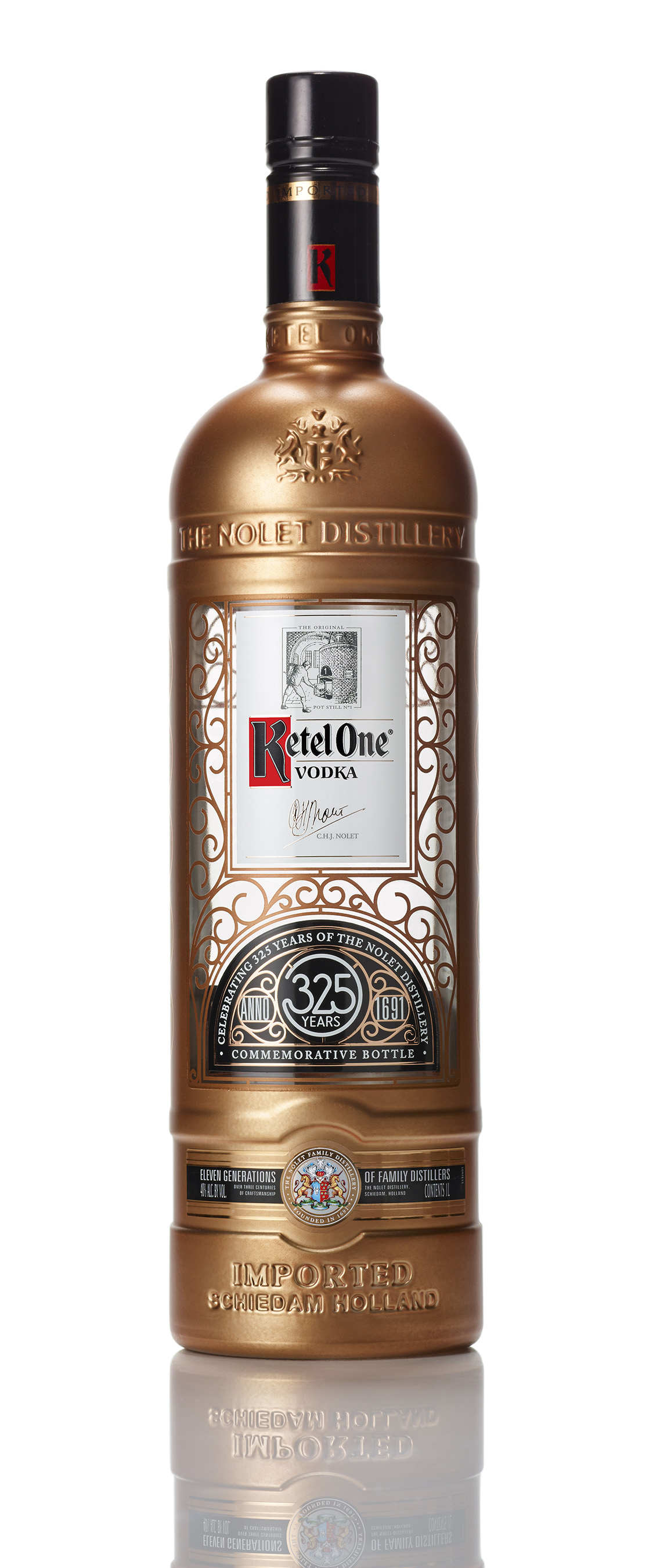 Ketel One Commemorative Botlle 325 Years