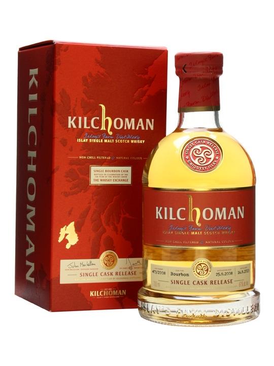 Kilchoman Bourbon Single Cask 2010
