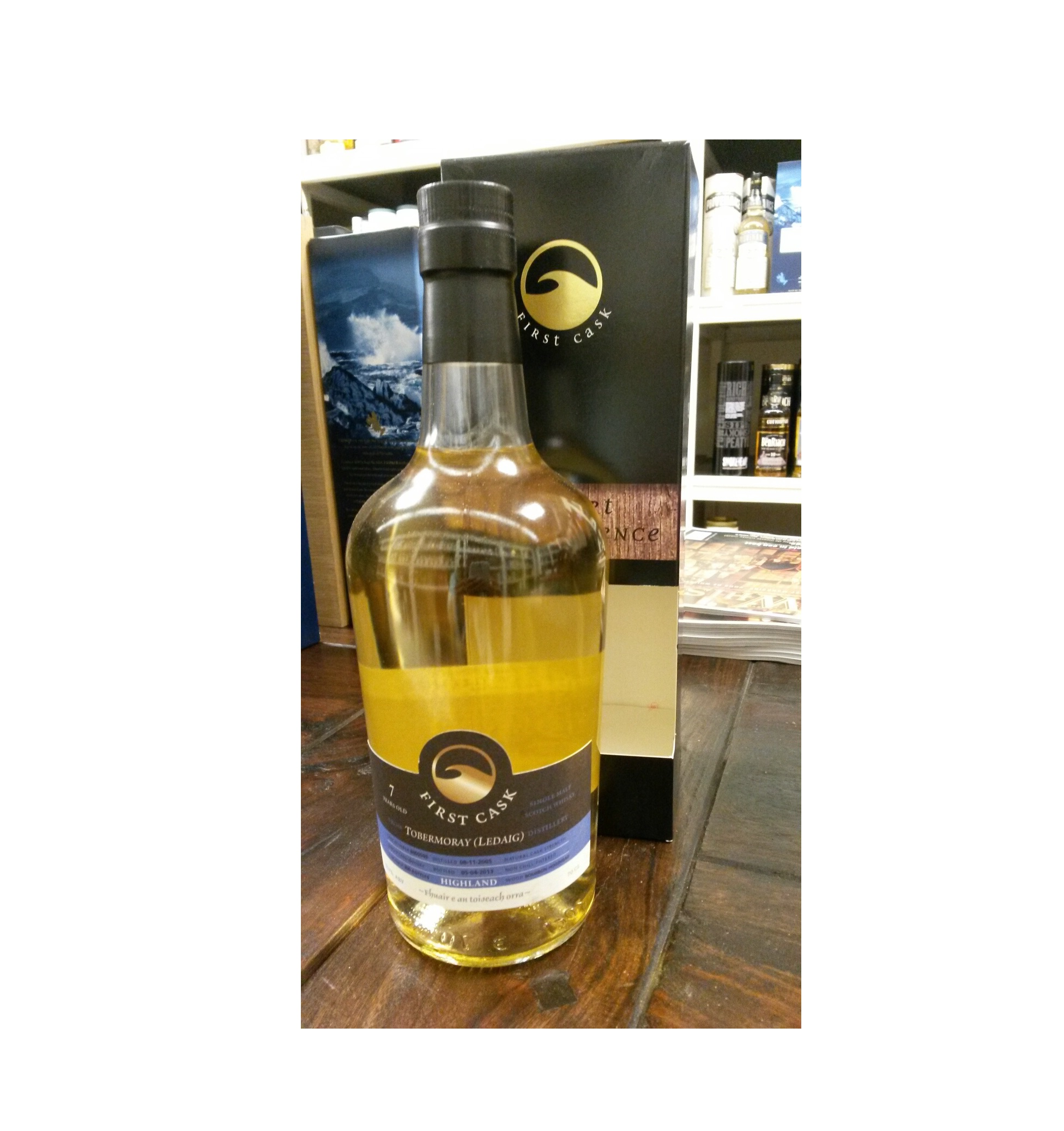 Ledaig 2008 7 Years Old ( Tobermory Distillery)