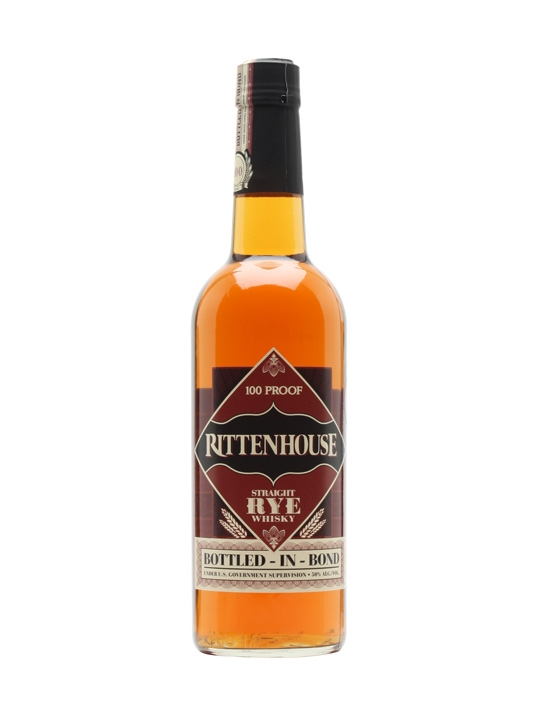 "Rittenhouse ""Straight Rye Whiskey"" 100 Proof"