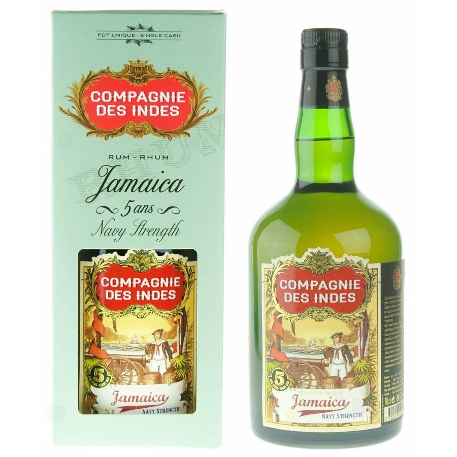 Compagnie Des Indes Rhum Jamaica 57%