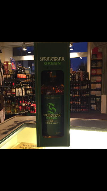 Springbank Green 13 Years
