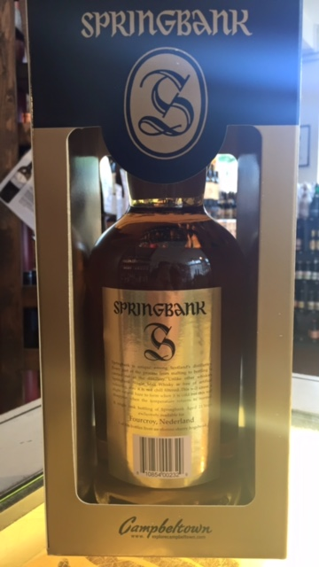 Springbank Single Cask 21 Years 48% 2016 ( limited Edition 330 flessen)