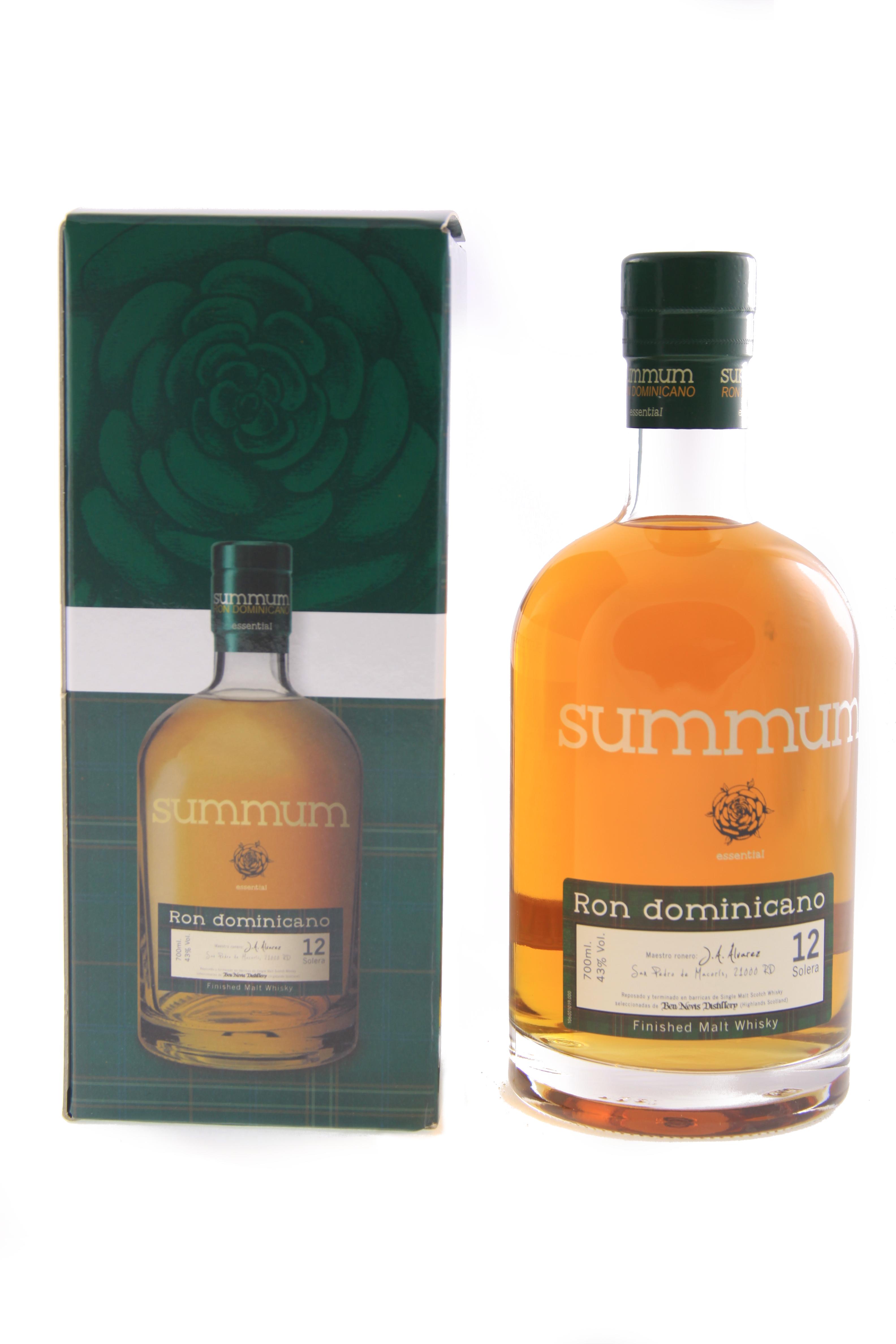 Summum Malt Whisky Finish 12 Years