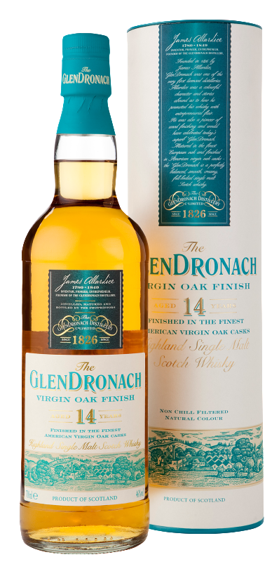 The Glendronach Virgin Oak Finish 14 Years