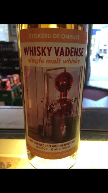 """Whisky uit Wageningen """"Vadense"""""""