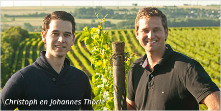 Wijnmakers Christoph en Johannes Thorle