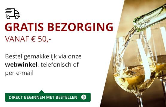 Gratis bezorging (50 euro) - rood